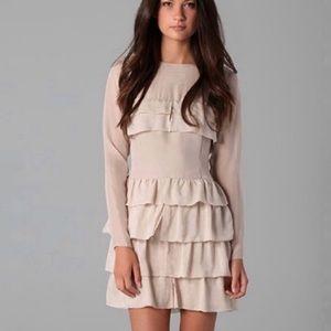 Twenty8Twelve Rudy Tiered silk dress